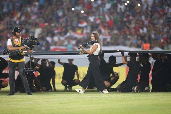 حواشی رقص بانوان در استادیوم کربلا