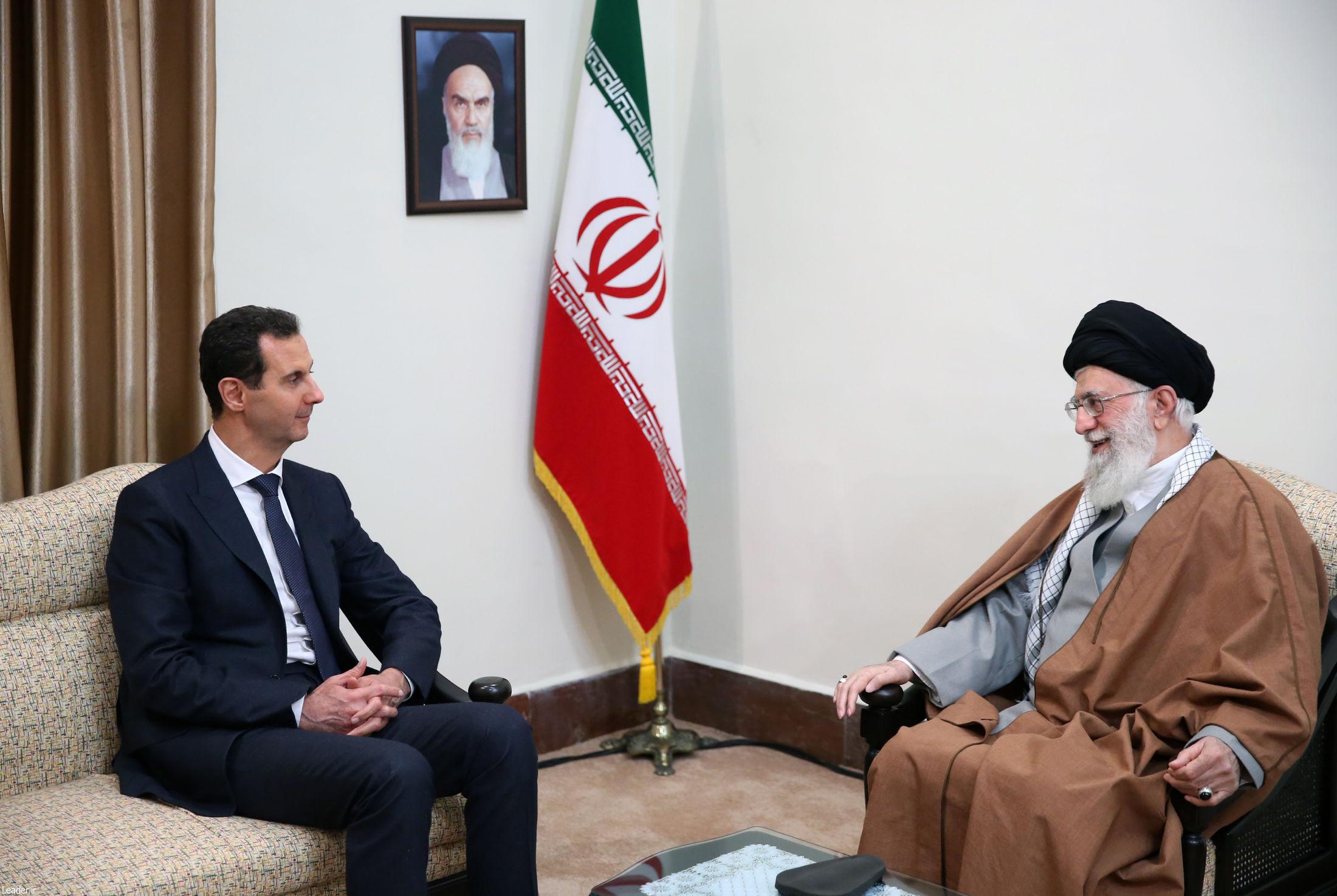 رهبری و اسد