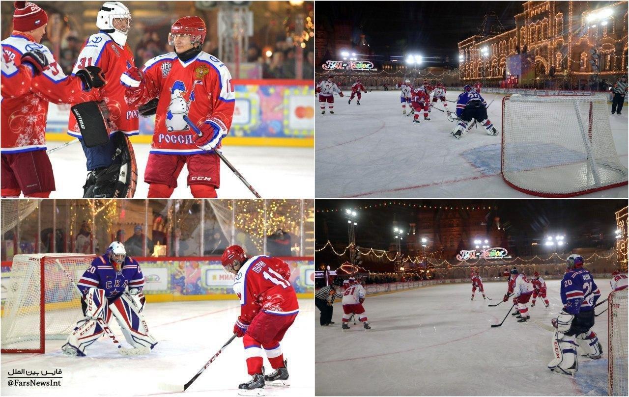 هاکی روی یخ پوتین
