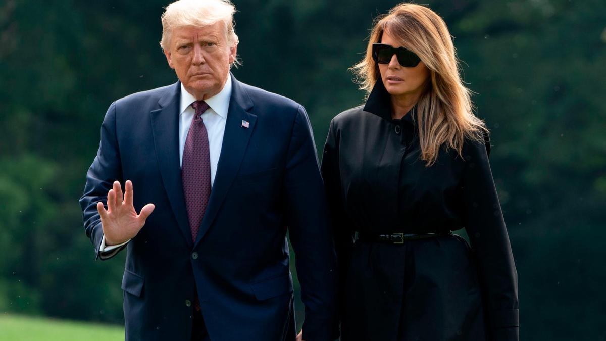 دونالد ترامپ و ملانیا