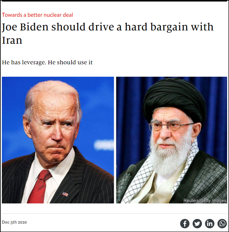 روایت اکونومیست اولویتها و فوریتهای جدید در تعامل واشنگتن-تهران پرونده ایران