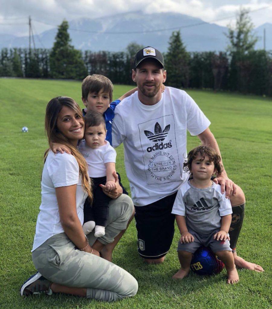 لیونل مسی و خانواده