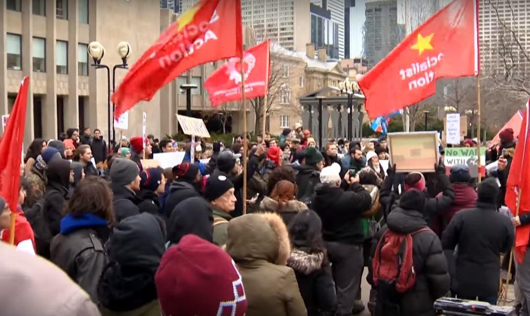 تظاهرات علیه جنگ با ایران در آمریکاواروپا