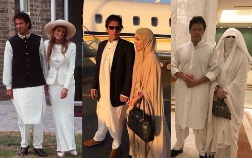 همسران عمران خان