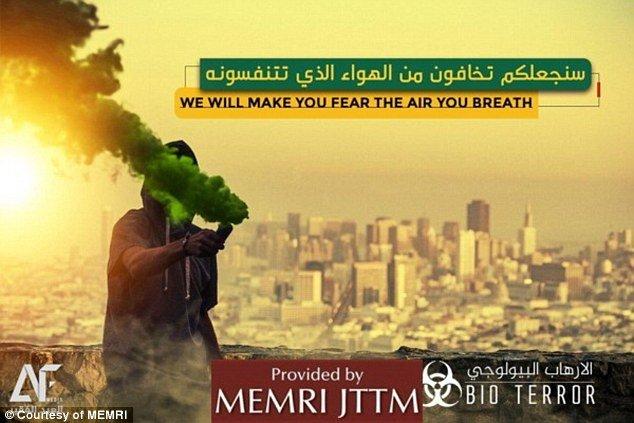 فراخوان داعش برای حمله بیولوژیکی به سانفرانسیسکو آمریکا