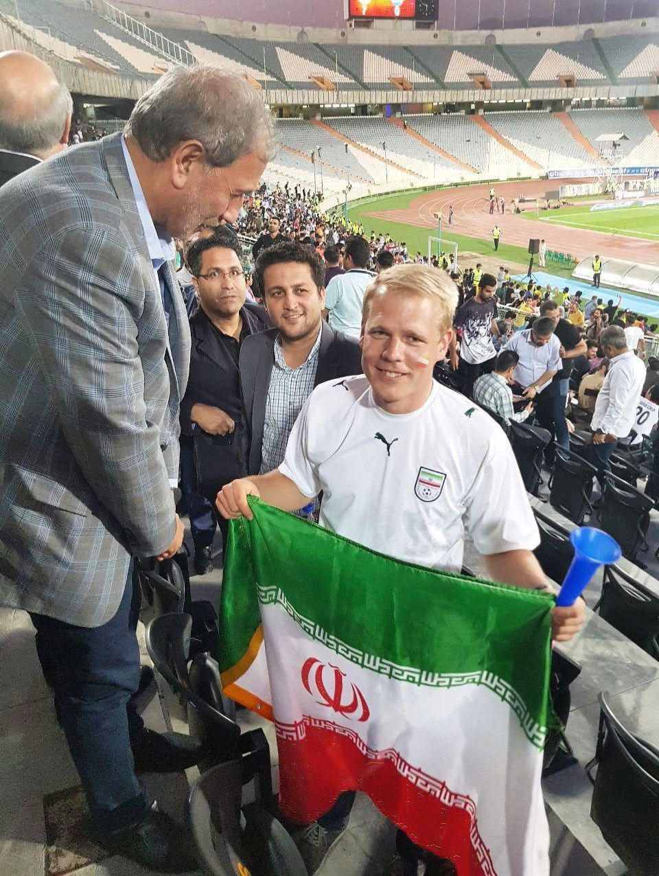 هوادار آلمانی تیم ملی فوتبال ایران