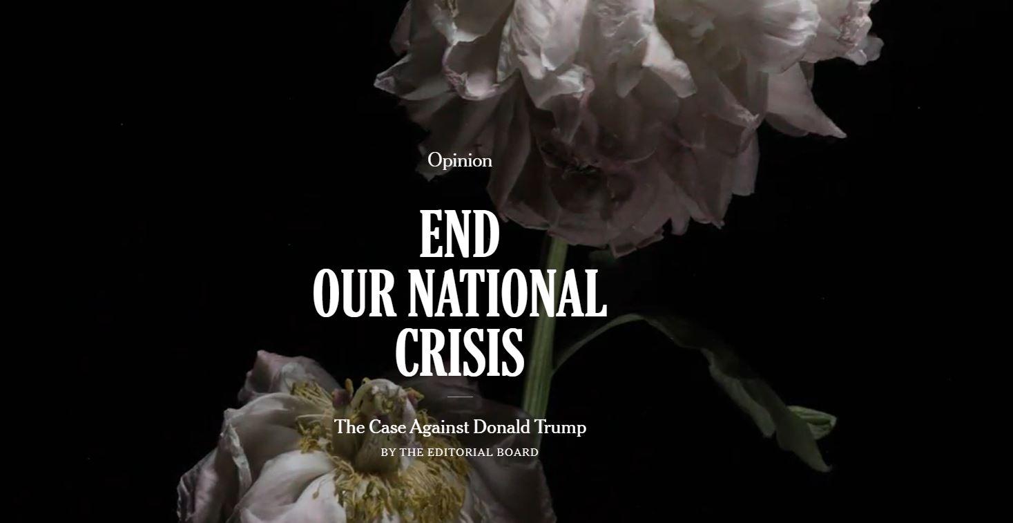 به بحران ملی ما پایان دهید