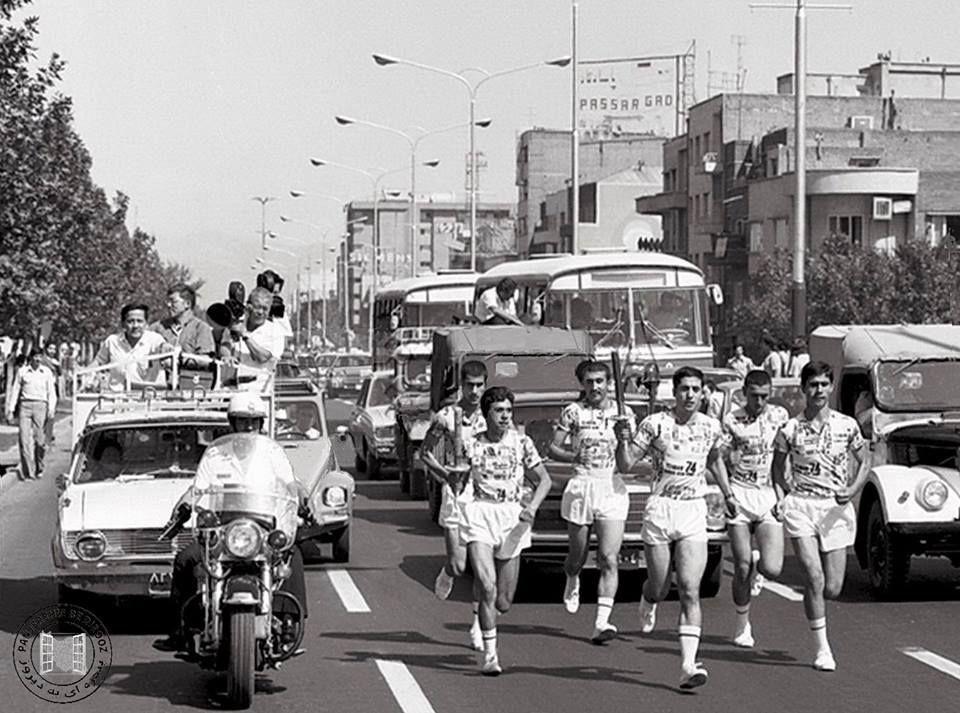 حمل مشعل بازی های آسیایی تهران