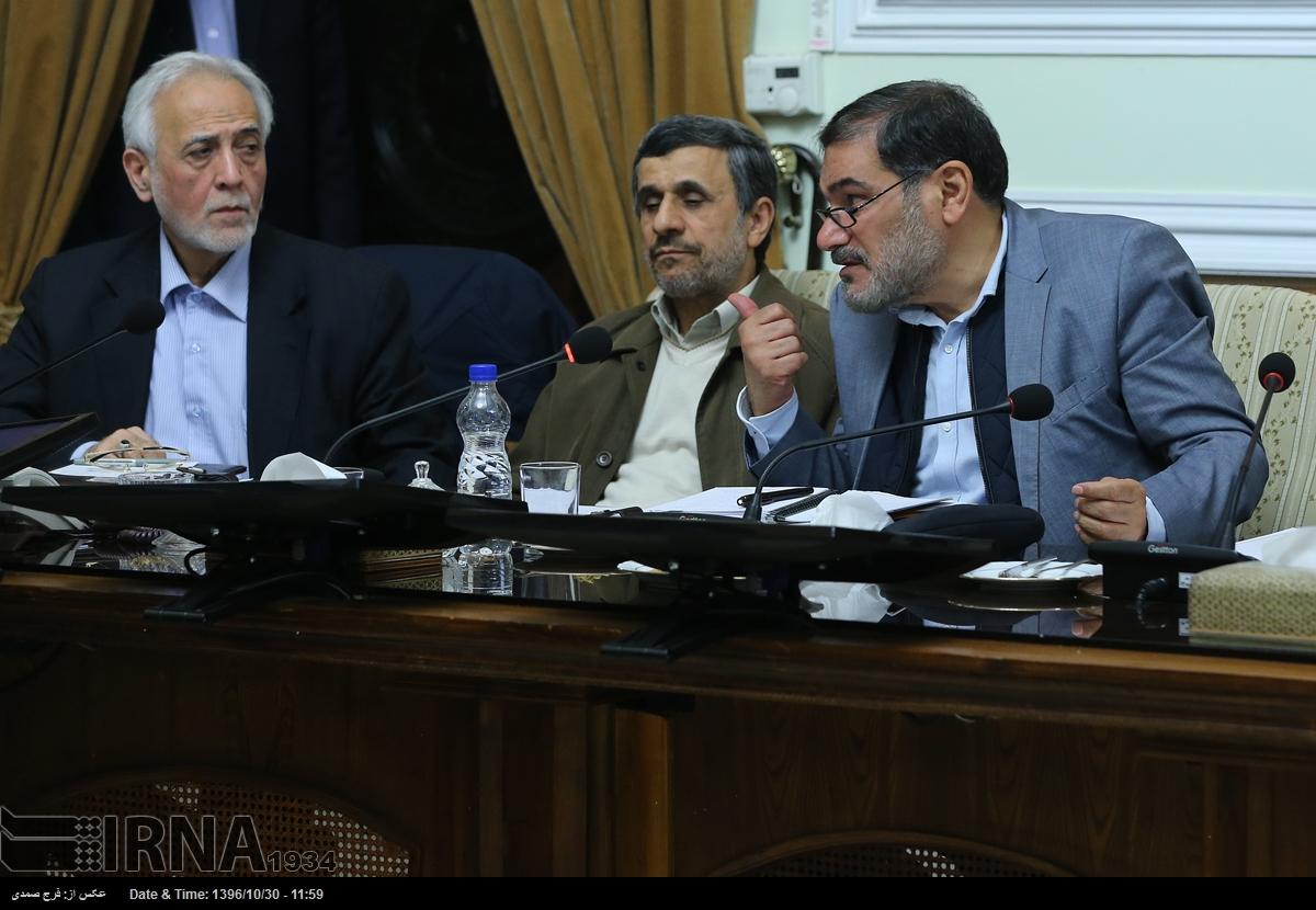 احمدی نژاد در مجمع تشخیص مصلحت