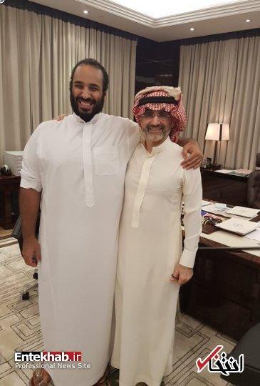 بن سلمان و ولید بن طلال