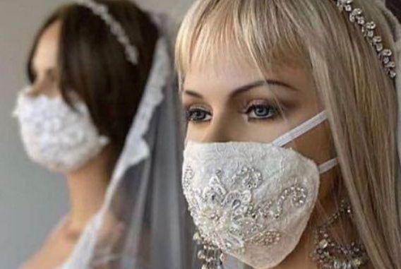 ماسک تنفسی برای عروس ها