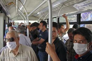 کرونا در اتوبوس