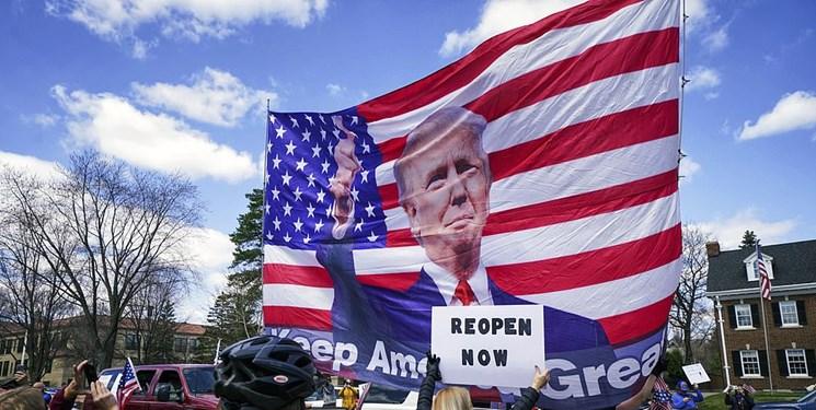 «شورش به فرمان رئیسجمهور»؛ هواداران ترامپ علیه فرمانداران ایالتی دموکرات به خیابان ریختند