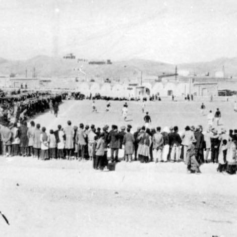 اولین مسابقه فوتبال در ایران