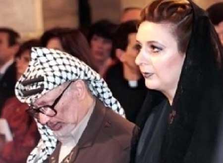 «سها عرفات» همسر «یاسر عرفات»