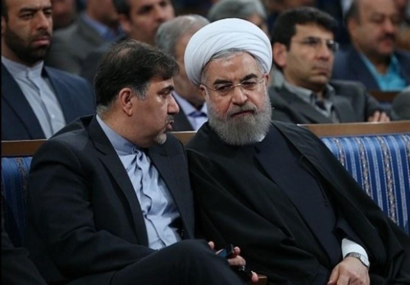 حسن روحانی و عباس آخوندی