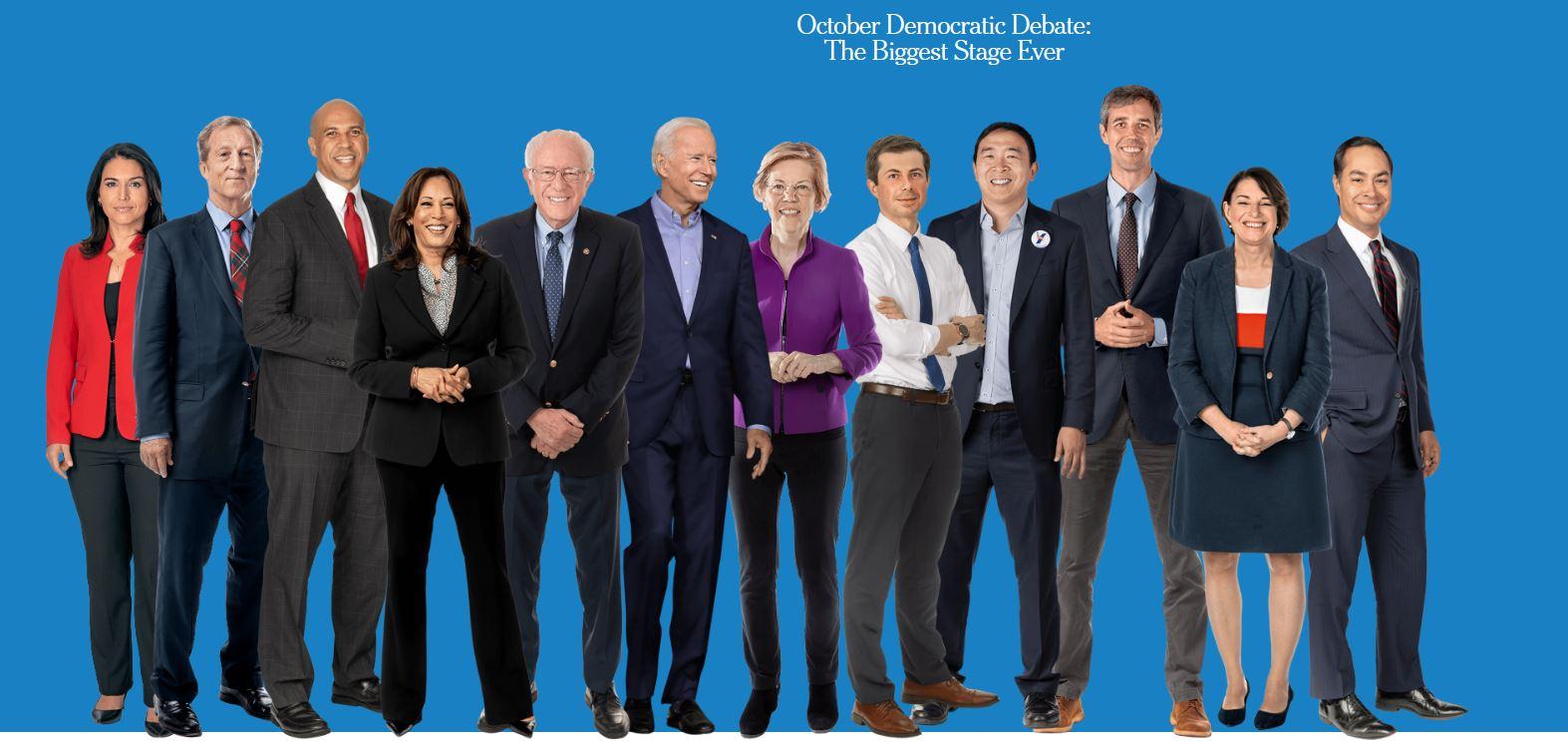 مناظره نامزدهای دموکرات انتخابات ریاستجمهوری آمریکا