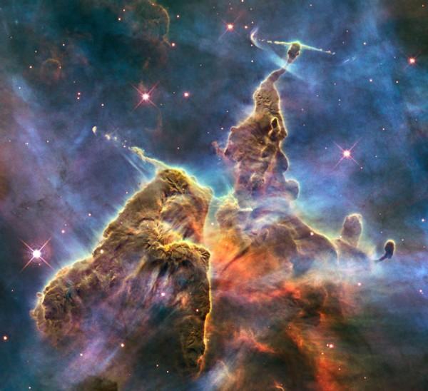 تصاویر حیرت انگیز آسمان کهکشانی شواهد / جدید از حیات فرازمینیها