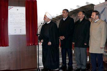 روحانی: منطقه یک آزادراه تهران - شمال نمایشی از قدرت مهندسی مهندسان ایرانی است