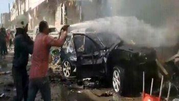 جزئیات تلفات انفجار در سوریه