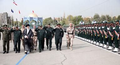 مقام معظم رهبری در مراسم دانشآموختگی دانشگاه امام حسین