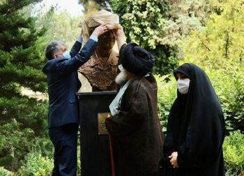 سردیس سردار شهید سلیمانی در تالار وحدت+عکس