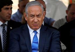 اقدام جنجالی نتانیاهو حین مصاحبه تلویزیونی + عکس
