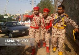 اولین تصاویر از حمله تروریستی به رژه نیروهای مسلح در اهواز +فیلم