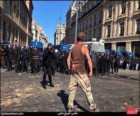 گزارش تصویری اختصاصی اقتصادنیوز از شورش جلیقهزردها در آستانه عید پاک