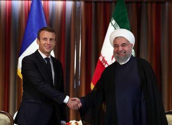دفاع ماکرون از تصمیمات هسته ای ایران در حضور نتانیاهو