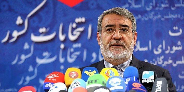 وزیر کشور: نباید از حوادث اخیر برای رقابتهای سیاسی استفاده کرد