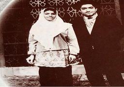 عکس قدیمی عزتالله انتظامی و فخری خوروش نیم قرن پیش