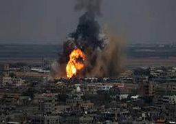 حمله هوایی اسرائیل به غزه