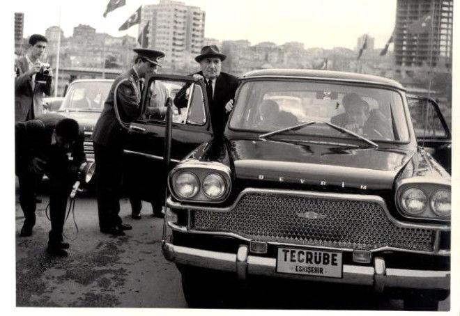 نخستین خودرو ملی ترکیه