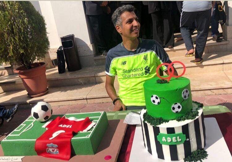 تولد ۴۶ سالگی فردوسی پور با کیک ۹۰ / از کادوی ویژه علی کریمی تا تبریک ستاره لیورپول به عادل