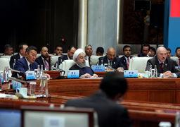 روحانی از اجلاس شانگهای: طرفین برجام برای رفع تحریمها مسؤولیت دارند
