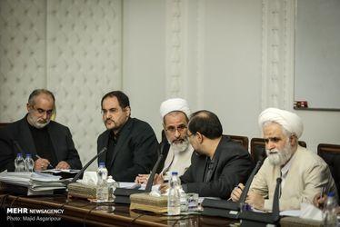 تصاویر جلسه شورای عالی انقلاب فرهنگی با حضور سران قوا