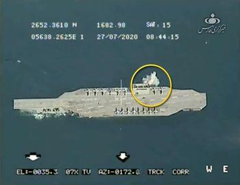 اعلام دلایل غرق نشدن ماکت ناوآمریکایی توسط سپاه