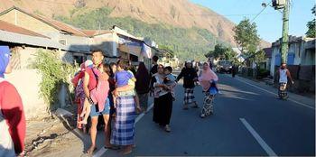 زلزله ۶.۸ ریشتری در اندونزی