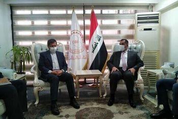 تاکید رییس کل بانک مرکزی عراق بر حل مسائل بانکی ایران در دیدار با همتی