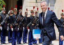 درخواست فرانسه برای معافیت از تحریمهای ایران رد شد