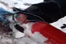 پیدا شدن کپسول آتش نشانی خالی؛ معمای بزرگ سقوط هواپیمای تهران یاسوج + فیلم