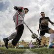 گزارش تصویری مسابقات فوتبال انتخابی تیم ملی جانبازان و معلولان