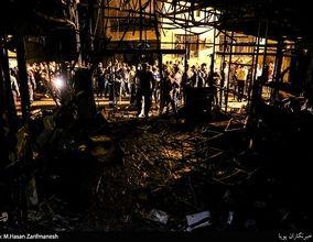 گزارش تصویری از کلینیک سینا پس از انفجار مهیب