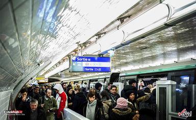 اعتصاب کارکنان حمل و نقل ریلی فرانسه