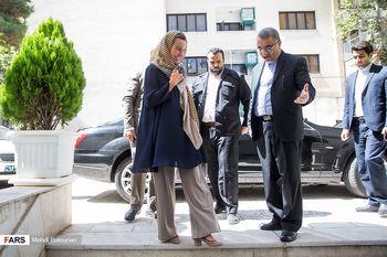فدریکا موگرینی در تهران با چه خودرویی رفت و آمد کرد؟ + عکس
