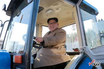 رانندگی متفاوت رهبر کره شمالی + عکس