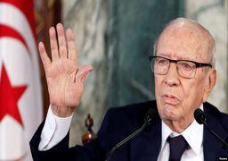 رئیس جمهور تونس درگذشت