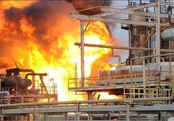 آتشسوزی پتروشیمی هرسین یک کشته بر جا گذاشت