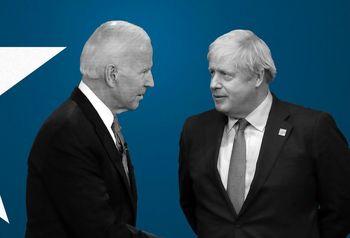 گفتوگوی تلفنی نخست وزیر انگلیس و بایدن